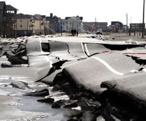 Estragos de Sandy en Estados Unidos. Foto: AP